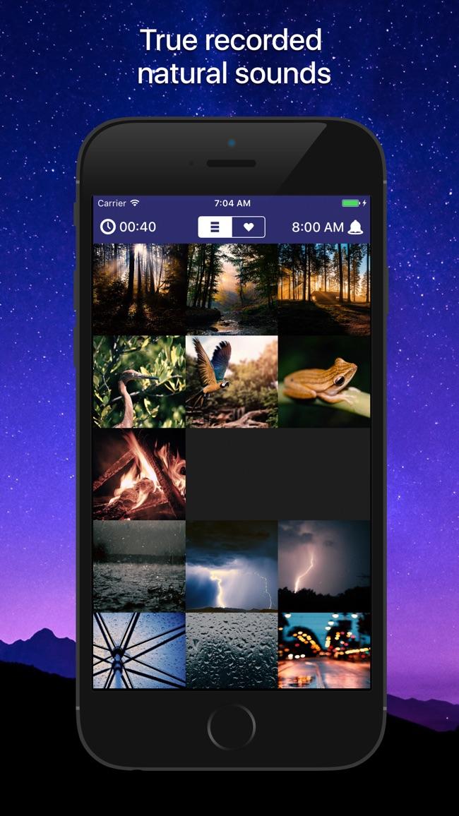 Sleep Sounds: relaxing sounds Screenshot