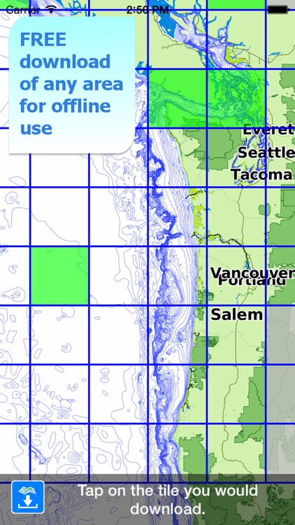 Aqua Map Oregon Washington - GPS Nautical Charts screenshot-4