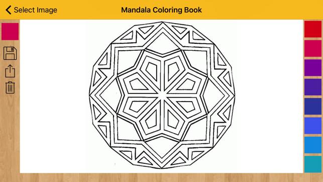 Mandalina Boyama Kitabı Boyama Kitabı Desen App Storeda