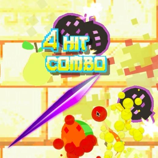 Ninja Pixel Fruit Slice