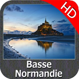 Marine: Basse Normandie HD - GPS Map Navigator