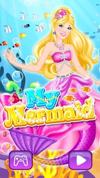 Meerjungfrau Prinzessin - verkleiden SpielScreenshot von 2