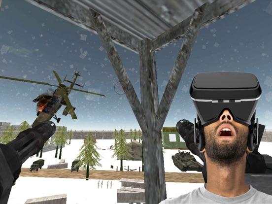VR Gunship Rescue Helicopter Battle screenshot 6