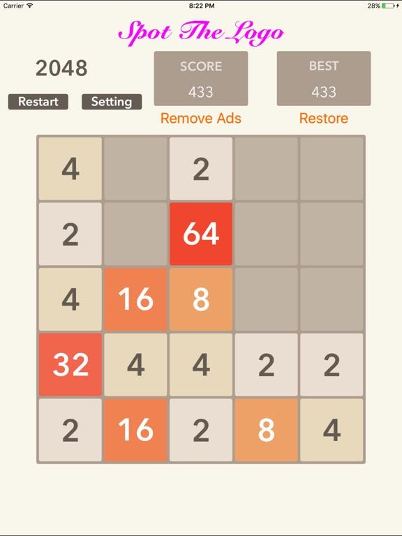 2048 5x5 6x6: Blocks Puzzle Screenshots