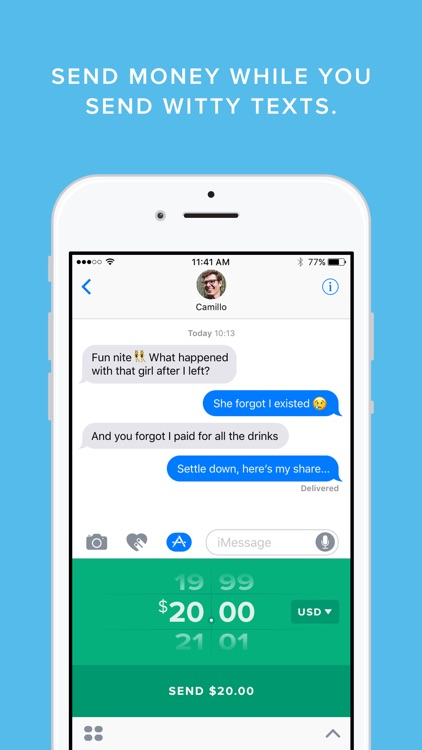 Circle Pay — Send money in $, £ and € to friends