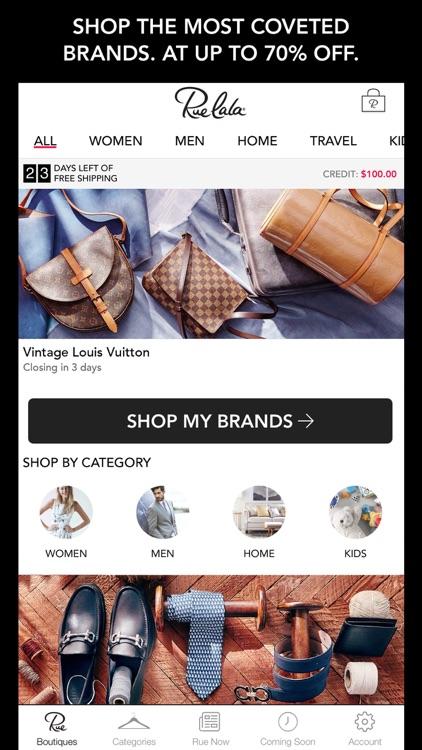 Rue La La-Shop Designer Apparel at Up to 70% Off