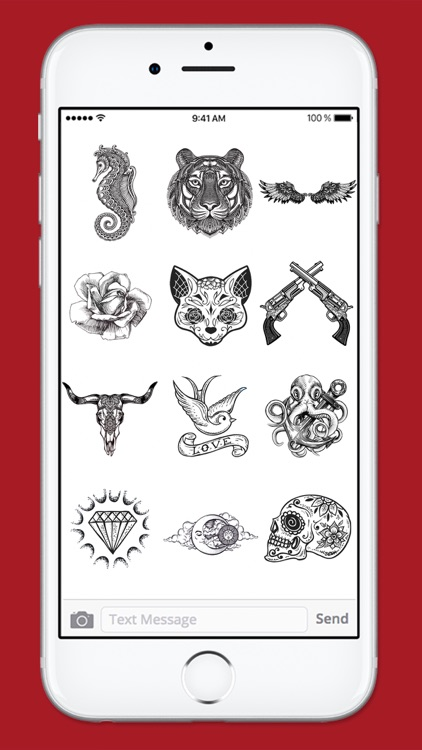Retro Tattoo Art Sticker Pack screenshot-4