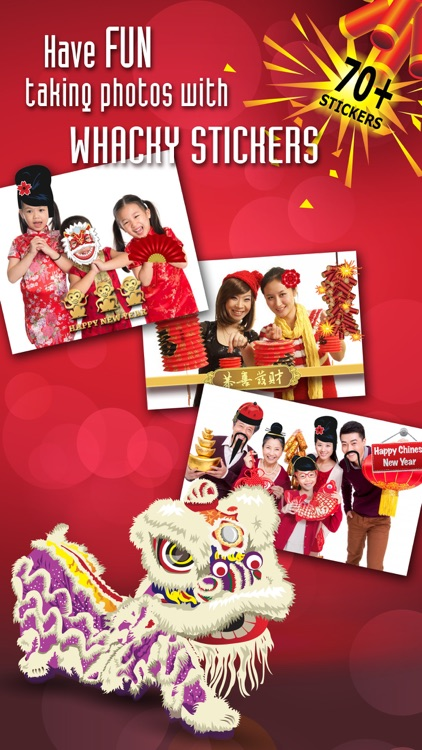 Chinese New Year Greeting Cards+