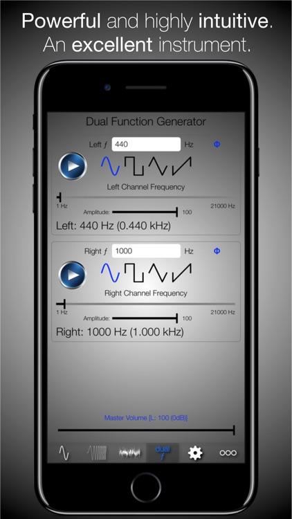 Audio Function Generator PRO screenshot-3