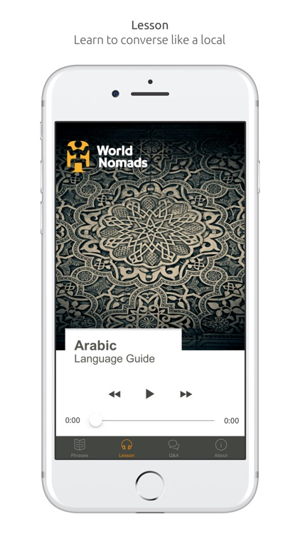 Arabic Language Guide & Audio - World Nomads