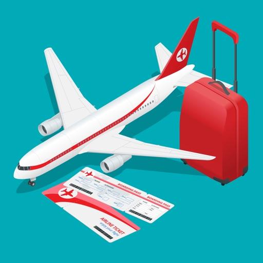 Vacation Travel & Transportation Sticker Pack