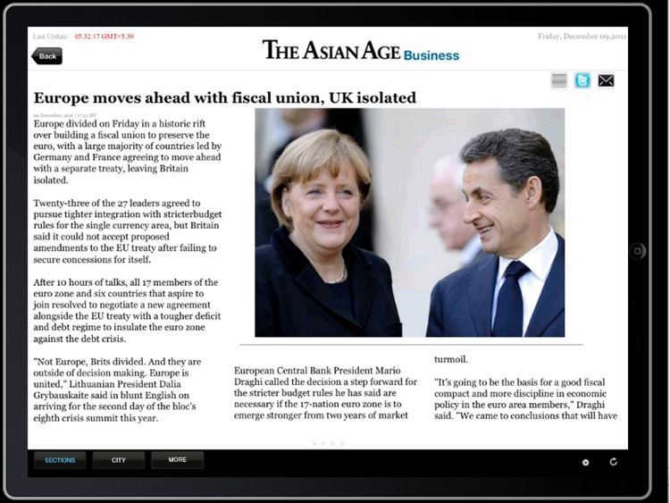 The Asian Age for iPad screenshot-4