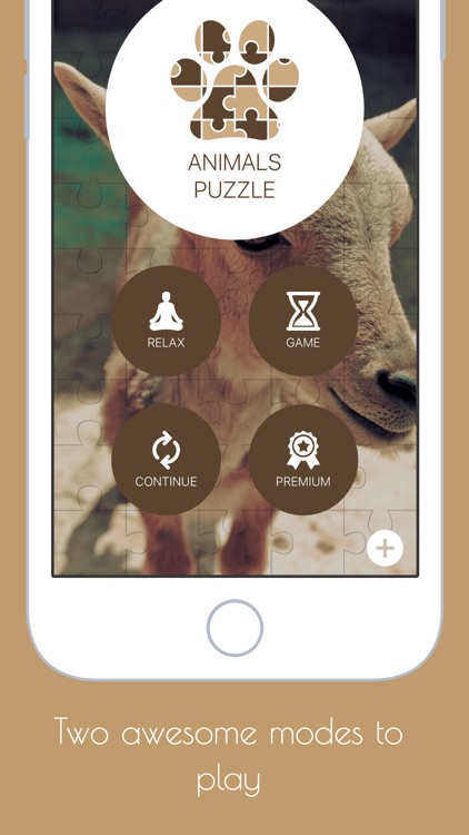 Animals Puzzle - Play with your favorite animals
