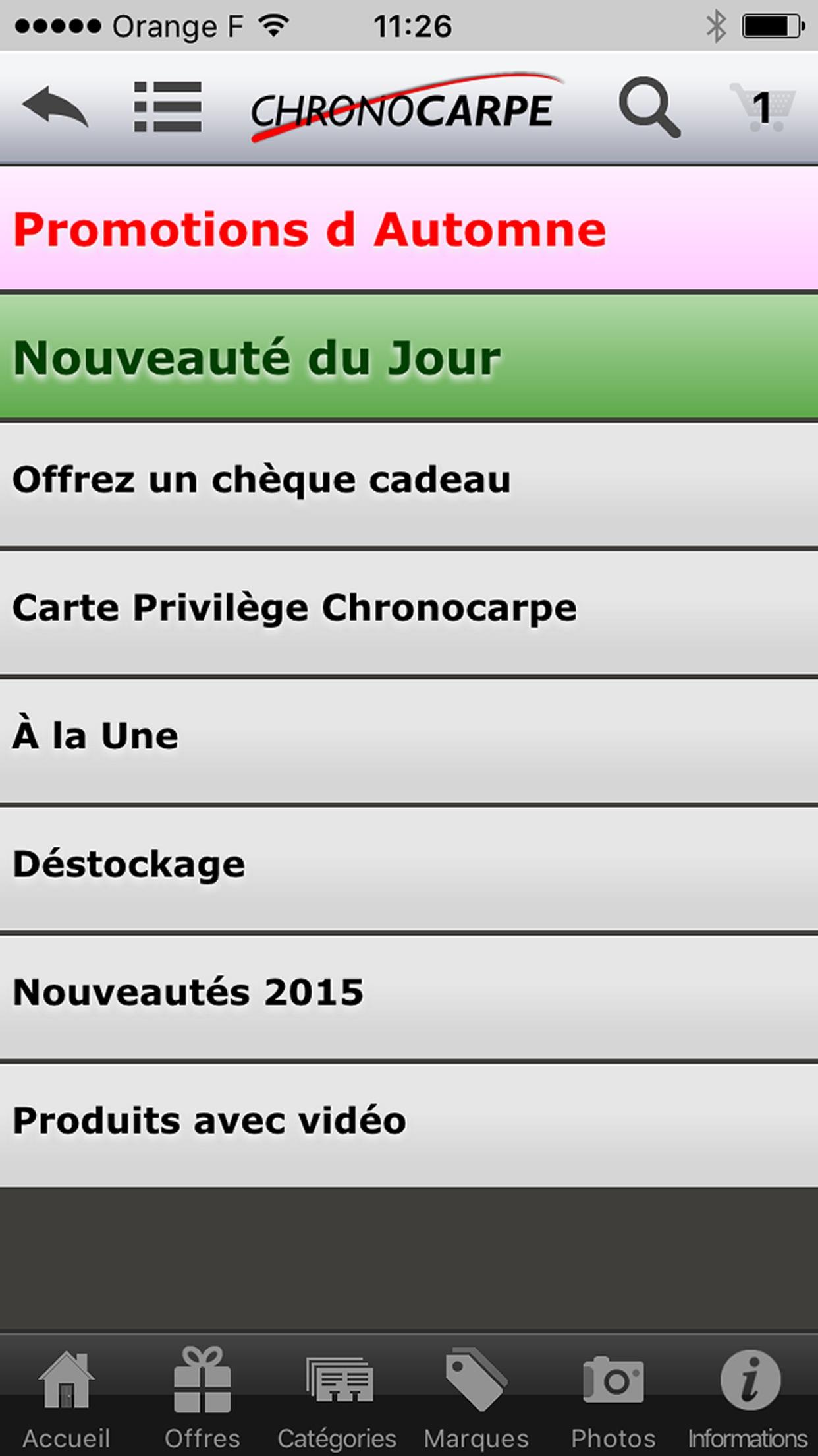 Chrono-Carpe Screenshot