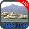 Andalucía HD - Carta Náutica GPS