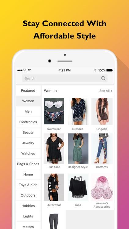 YoShop: Top Fashion, New Electronics, DAILY Sales screenshot-3