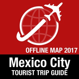 Mexico City Tourist Guide + Offline Map