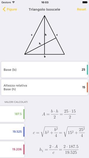 Mageometry 2d risolutore di geometria piana su app store for App per risolvere i problemi di geometria
