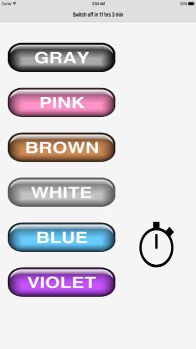 Noise (gray, pink, brown, white, blue, violet) screenshot 1