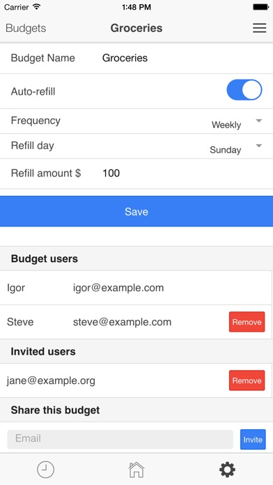 family fortune budget app for families by ridgebit llc finance