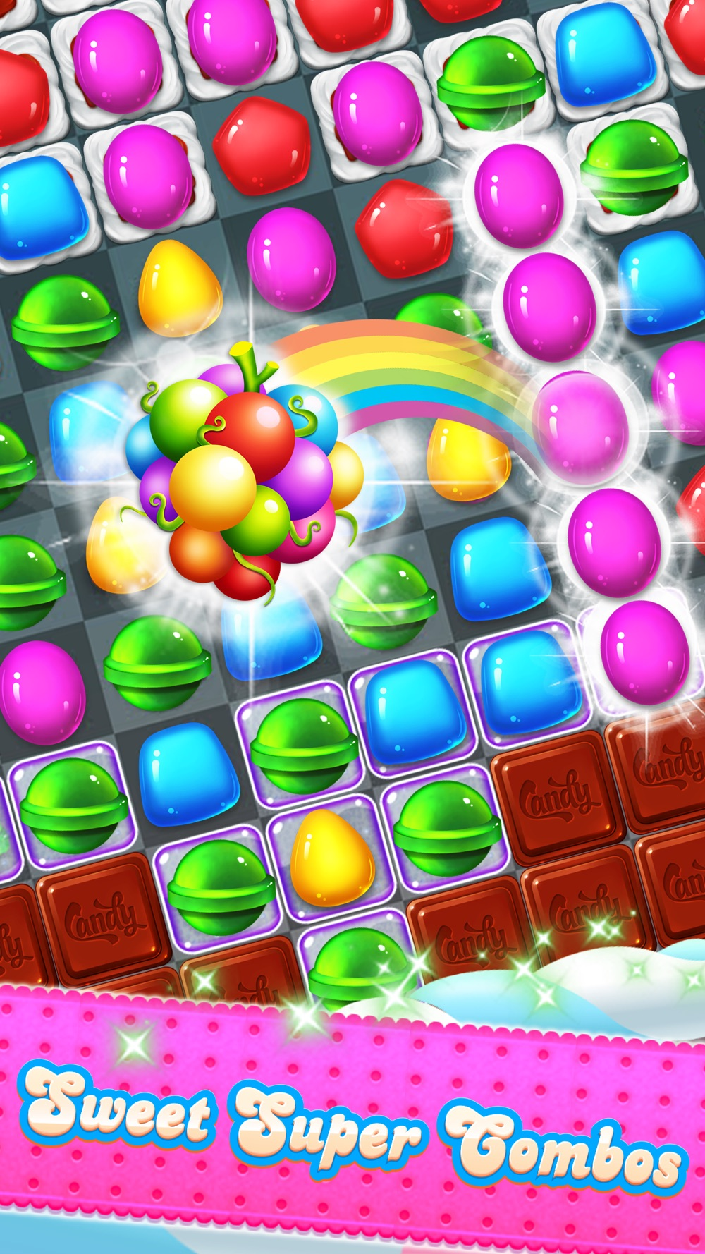 Candy Sweet – best match 3 puzzle