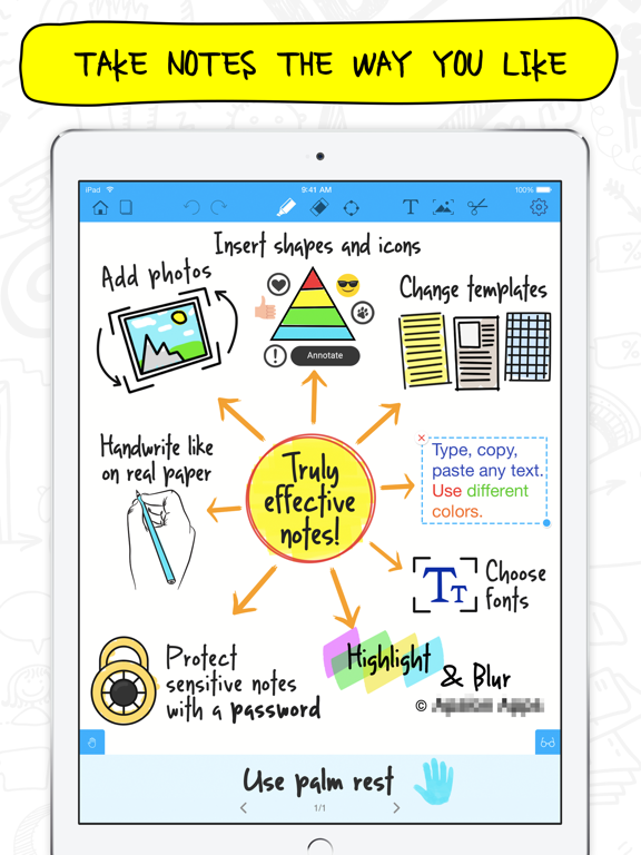 Notepad+ Take Business & Study Notes, Handwrite, and Annotate PDFs screenshot