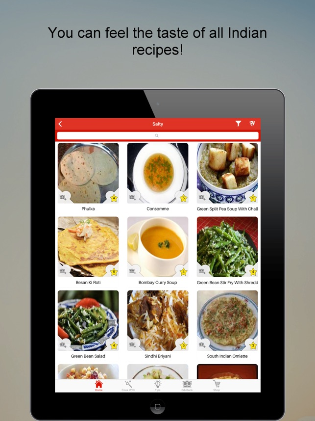 Indian food recipes smart offline cookbook on the app store forumfinder Image collections