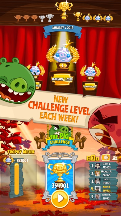 Angry Birds Seasons Screenshots