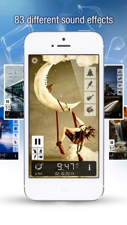 Sleep Bug: White Noise Soundscapes & Music Box screenshot-1