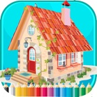 Livro de coloração da casa - para o miúdo icon
