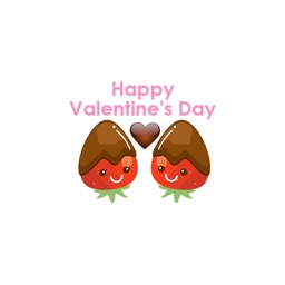 Chocolate for Valentine's Day - Sweet Stickers