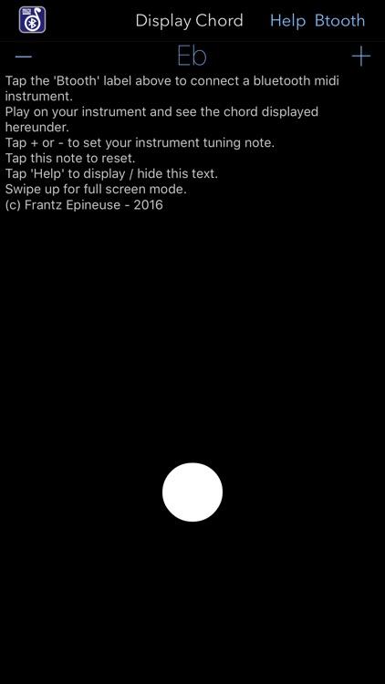 Midi Chords Display screenshot-3