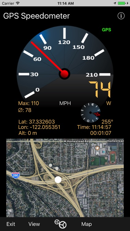 GPS-Speedometer screenshot-0