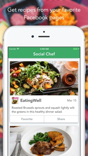 Social chef on the app store screenshots forumfinder Images