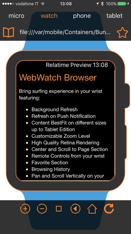Web on Your Watch screenshot-4