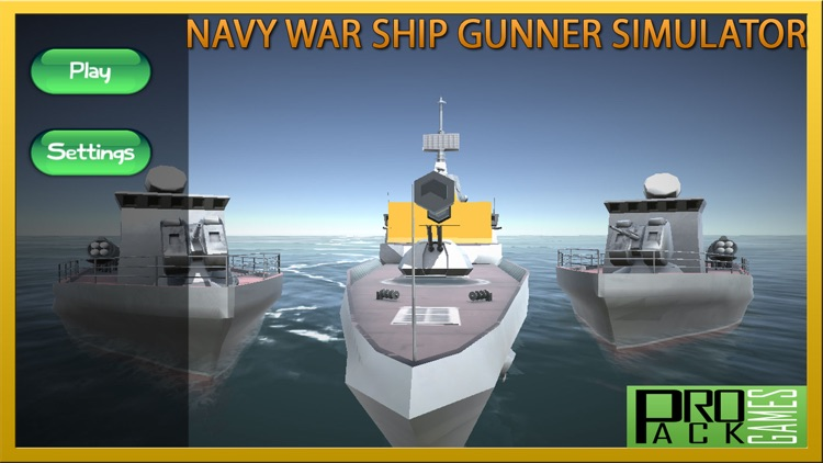 Navy Warship Gunner Simulator: Naval warfare Fleet screenshot-3