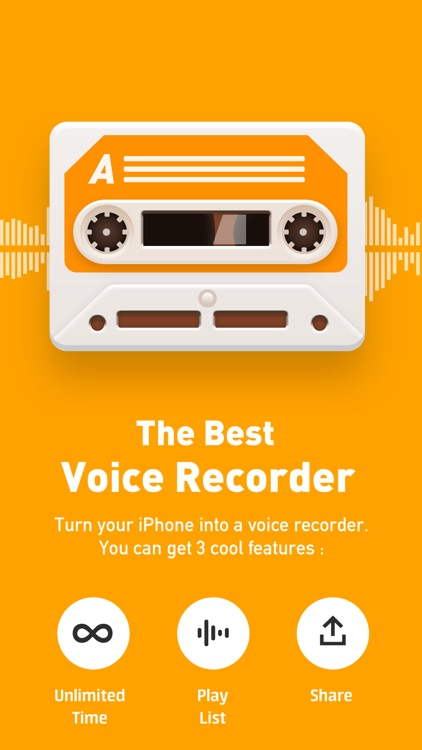Voice Recorder - Best Recording & Voice Memos App