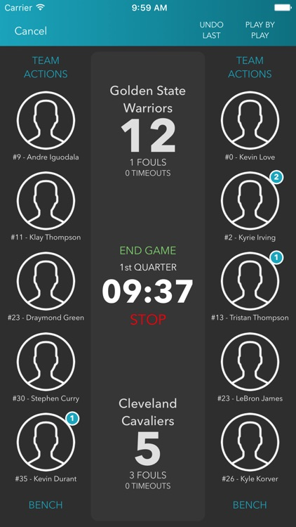 inGameStats Hoops screenshot-2