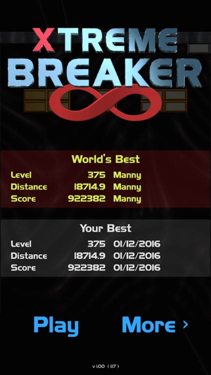 Xtreme Brick Breaker: Infinite screenshot-0