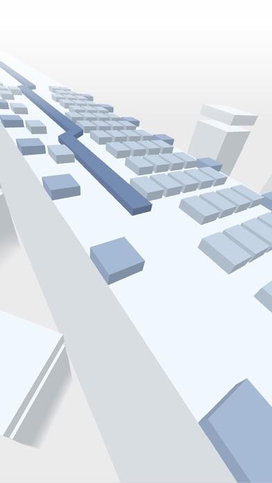 Dancing Brick Shot Blocks: 16 Square Line minimize App 截图