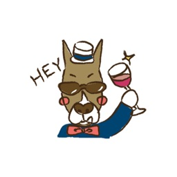 Boxer Dog Stickers for iMessage