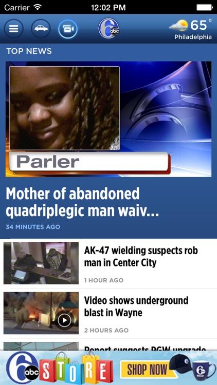 6ABC Philadelphia: News, Weather, Traffic screenshot-4