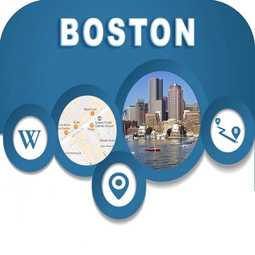 Boston MA USA Offline Map Navigation GUIDE