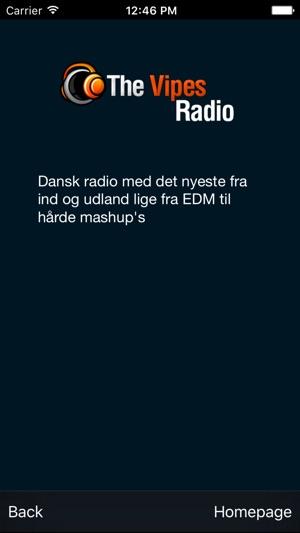 Dansk radio app