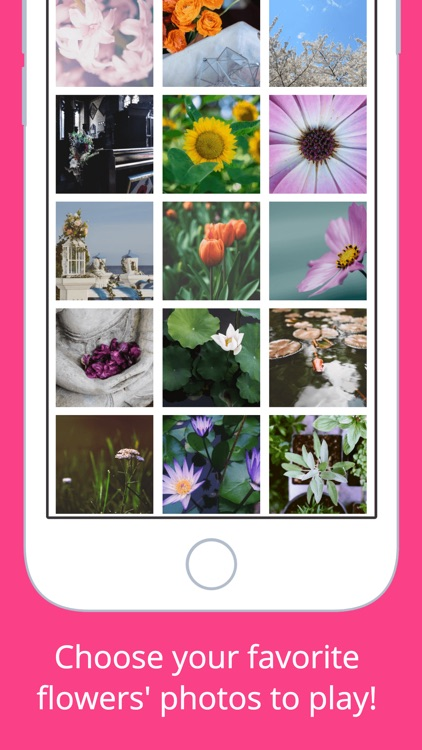 Flowers Puzzle - Play with your favorite flowers