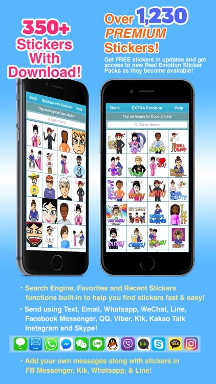 Bit Emoji (BitEmoji) Real Emotion Texting Stickers screenshot-3