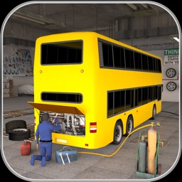 Bus Mechanic Auto Repair Shop