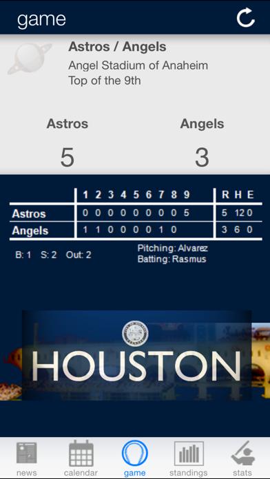 Houston Baseball screenshot two
