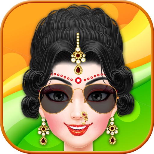 Indian Girl Makeup Salon - Kala Chashma Wedding by