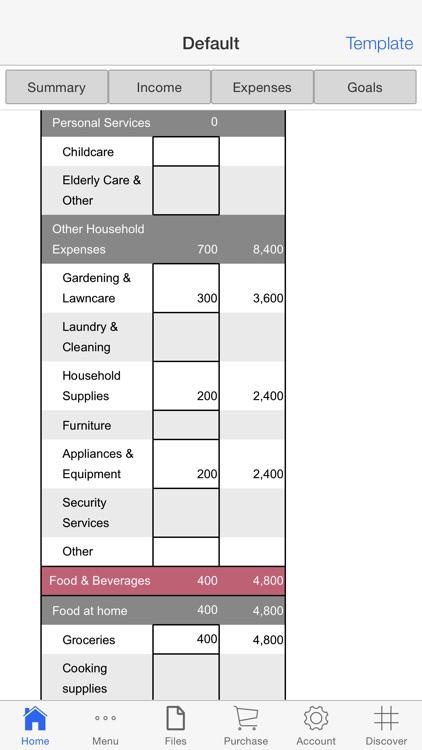 Personal Budget Pro screenshot-3